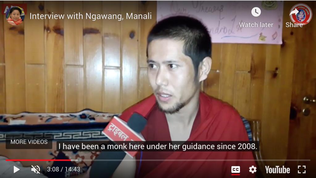 Ngawang interview