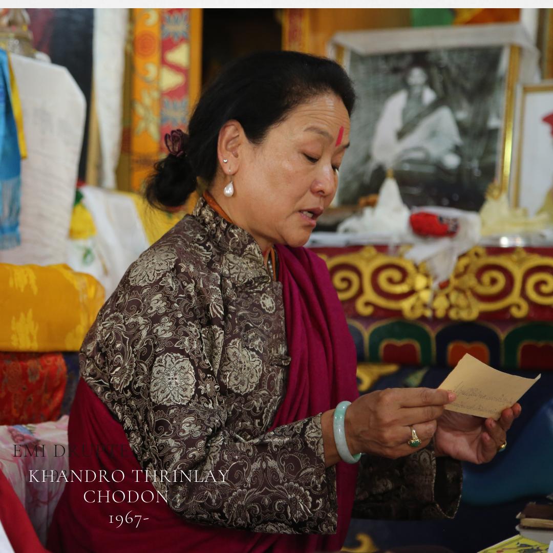 Khandro Thrinlay Chodon